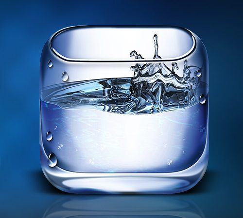 Water iOS Icon