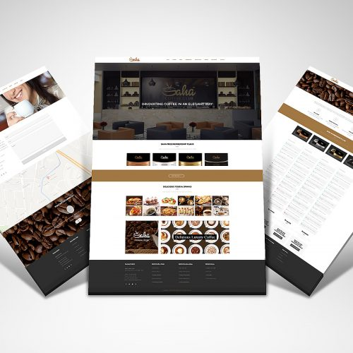 SAHA Coffe Club Website