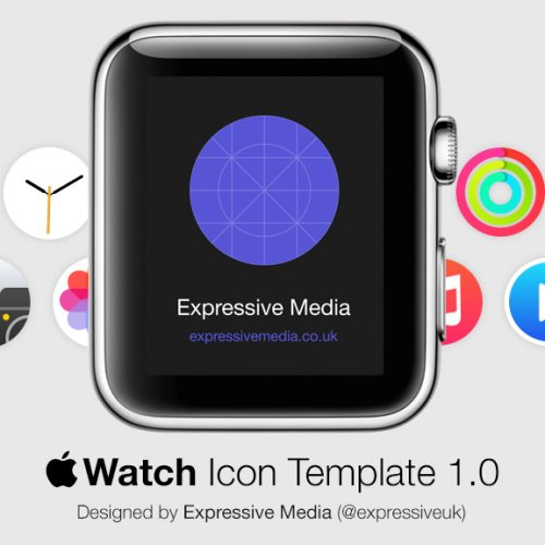 Apple Watch Icon Template 1.0