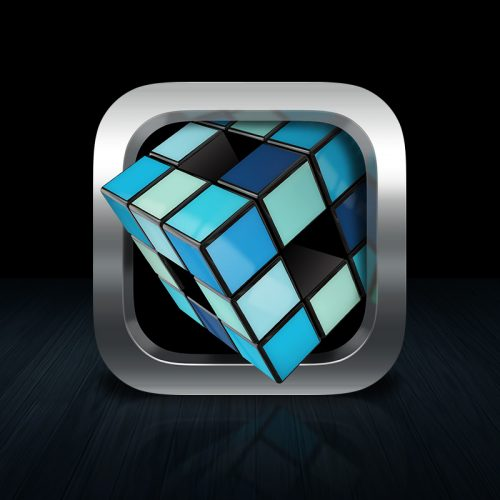 The cube iOS Icon
