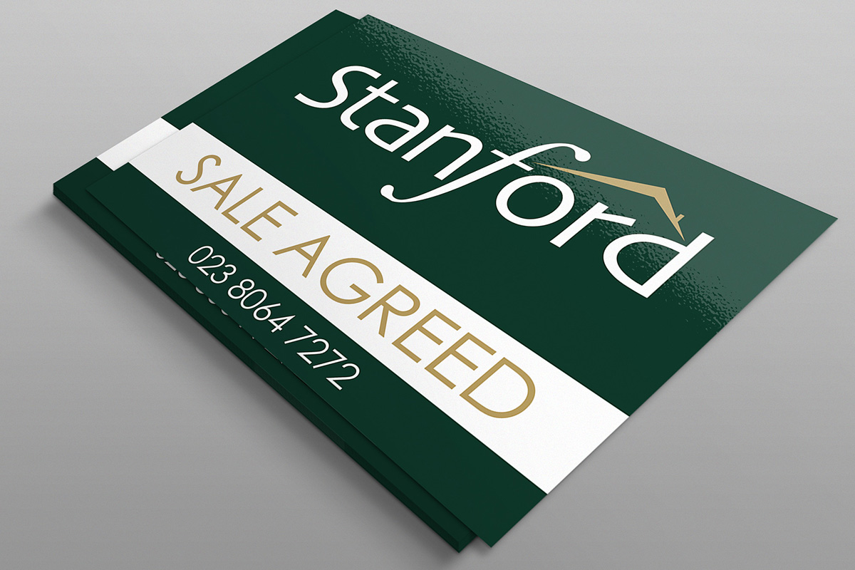 Stanford Sign Board horizontal By expressive Media
