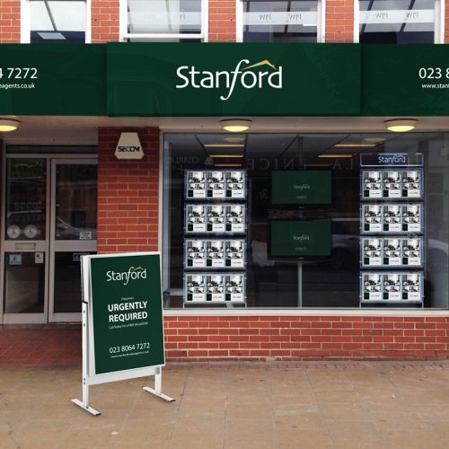 Stanfords Office Branding