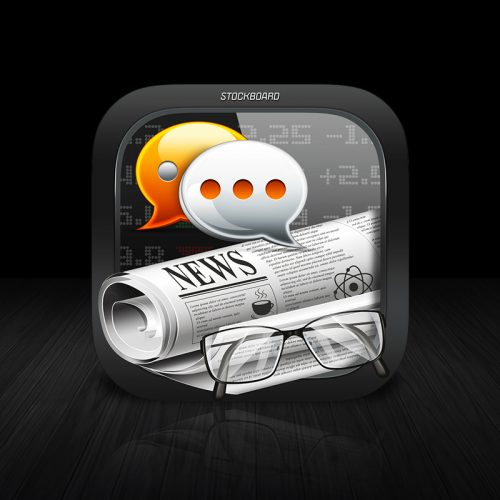 Stockboards iOS Icon V1 iOS App Icon Design By Expressive Media