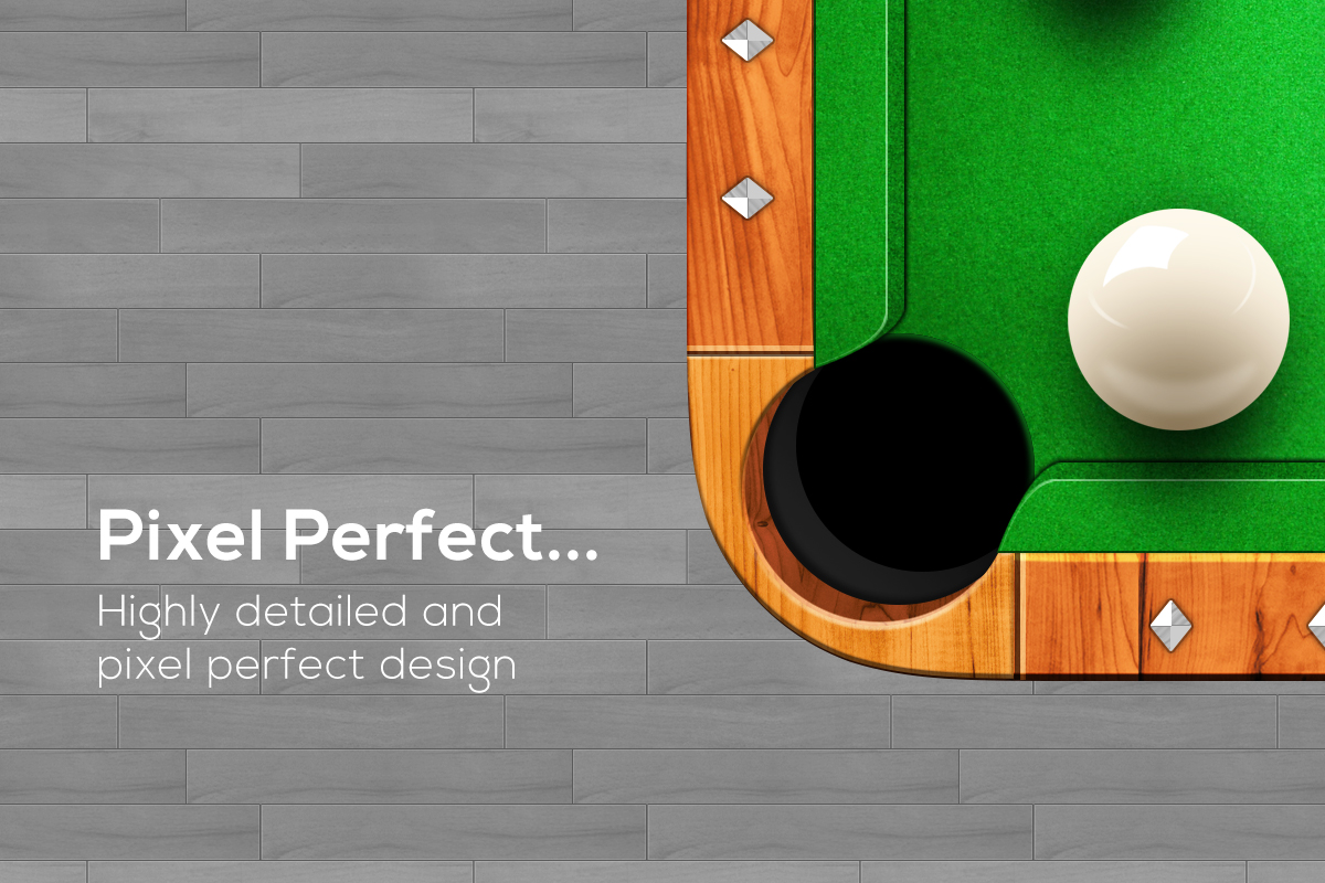 Billiards snooker pool table iOS icon - By Expressive Media