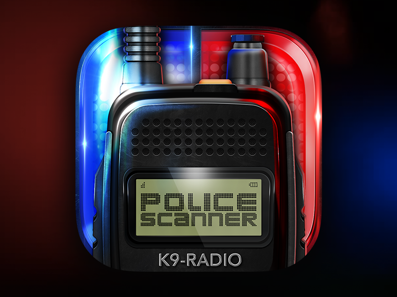 Police Scanner App Icon by Expressive Media